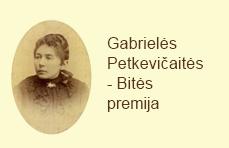 Gabrielės Petkevičaitės - Bitės premija