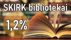Skirkite bibliotekai
