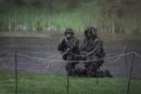Šiuolaikinę kariuomenę pristatė savanorių bei šaulių kuopų atstovai