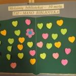 Molainių bibliotekai 10 metų