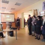 Bibliotekos renovuotų patalpų pristatymas bendruomenei
