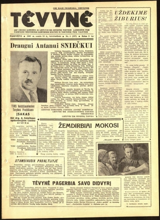 Tėvynė 1963 sausio 10 NR_4 (107)