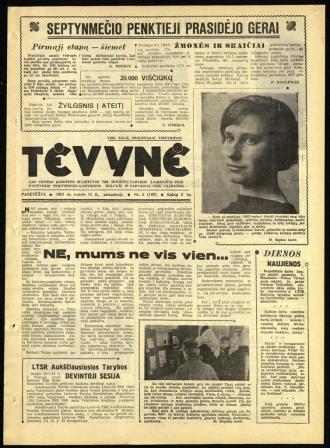 Tėvynė 1963 sausio 15 NR_6 (109)