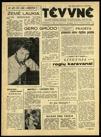 Tėvynė 1963 sausio 22 NR_9 (112)