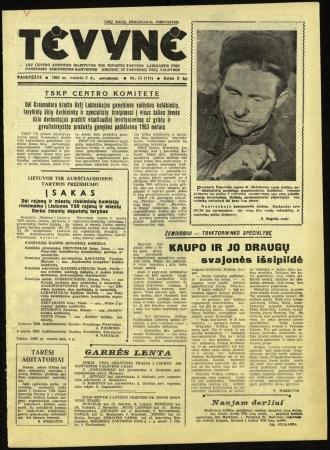 Tėvynė 1963 vasario 5 NR_15 (118)