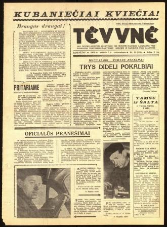 Tėvynė 1963 vasario 7 NR_16 (119)