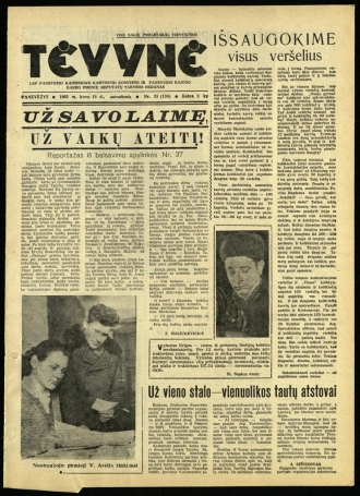Tėvynė 1963 kovo 19 NR_33 (136)