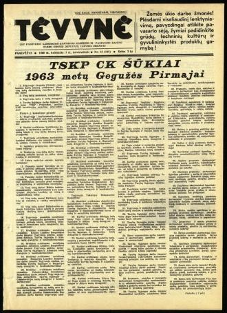 Tėvynė 1963 balandžio 11 NR_43 (146)