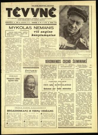 Tėvynė 1963 balandžio 20 NR_47 (150)