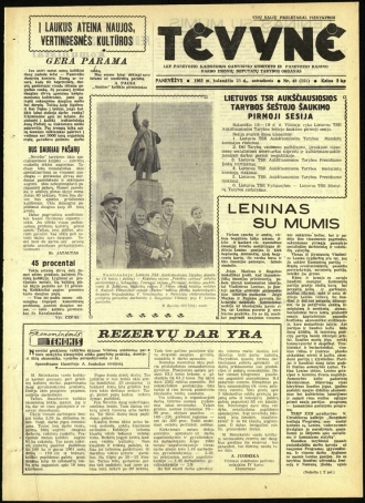 Tėvynė 1963 balandžio 23 NR_48 (151)