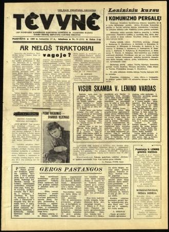 Tėvynė 1963 balandžio 27 NR_50 (153)