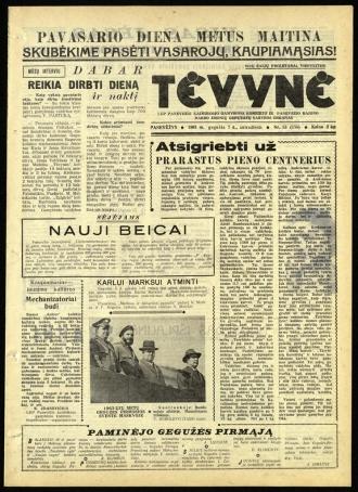 Tėvynė 1963 gegužės 7 NR_53 (156)
