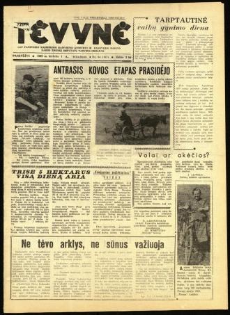 Tėvynė 1963 birželio 1 NR_64 (167)