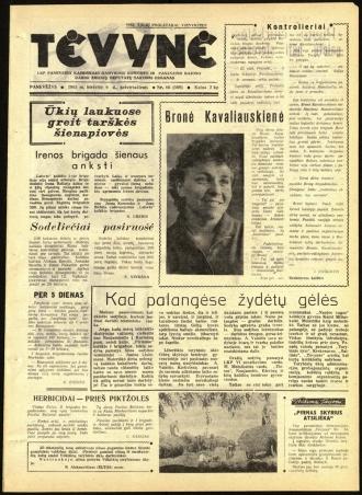 Tėvynė 1963 birželio 6 NR_66 (169)