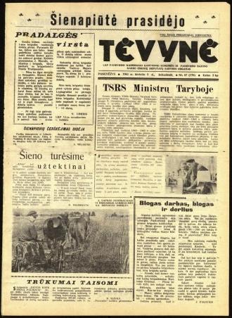 Tėvynė 1963 birželio 8 NR_67 (170)