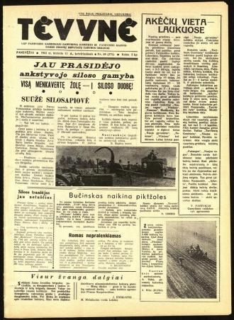 Tėvynė 1963 birželio 13 NR_69 (172)