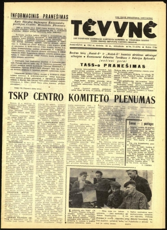 Tėvynė 1963 birželio 22 NR_73 (176)