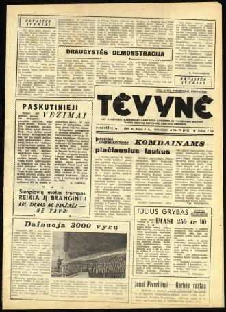 Tėvynė 1963 liepos 6 NR_79 (182)