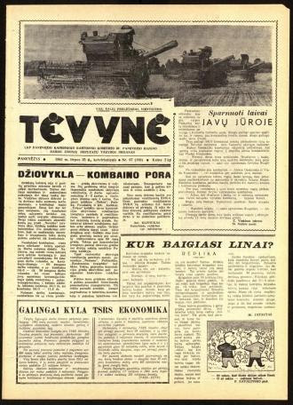 Tėvynė 1963 liepos 25 NR_87 (190)
