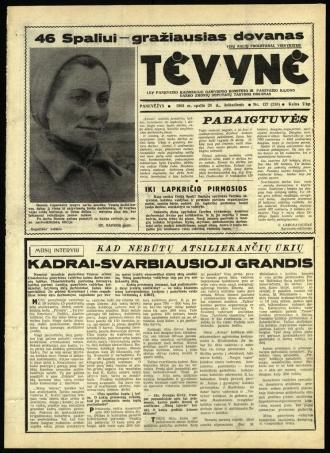 Tėvynė 1963 spalio 26 NR_127 (230)