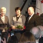 R. Bagdonienė su I. Degutiene bei V. Satkevičiumi
