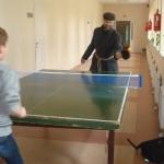 Teniso partija Miežiskiuose