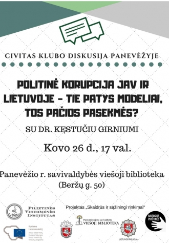 Civitas klubo renginys