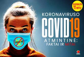 Koronavirusas: faktai ir mitas