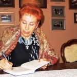 A. Ruseckaitės autografas