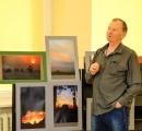 Fotografo Algimanto Lūžos dovana   Panevėžio rajono bibliotekai  –naujausių foto albumų sutiktuvės