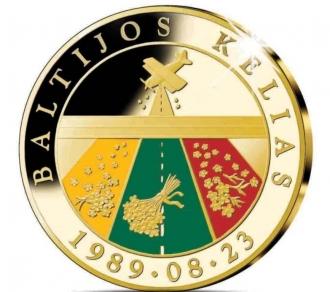 Baltijos kelio atminimo medalis