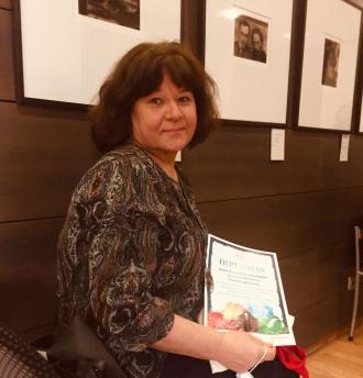 Piniavos bibliotekininkė Jolanta Šimeliūnienė