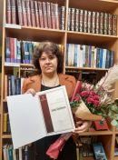 Šventėje pristatyta Metų bibliotekininkė