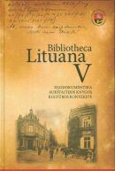 Bibliotheca Lituana. T. 5