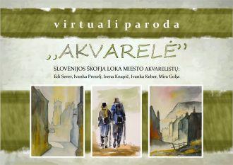 Virtuali akvarelės paroda