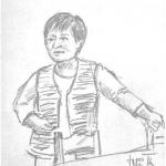 Sever, Edi.  Akvarelistė Irena Knapič