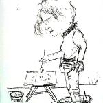 Sever, Edi.  Akvarelistė Mira Golja