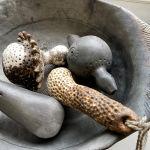 Keramikos parodos fragmentas