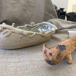 Ramygalos klubo vasaros plenero keramikos paroda