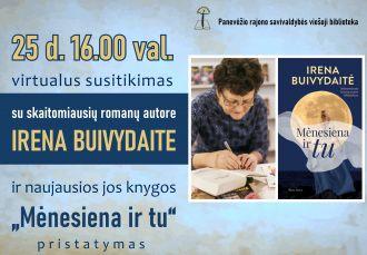 Susitikimas su Irena Buivydaite