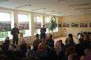 Fotoparodos ir knygos pristatymai sukvietė skaitytojus į biblioteką