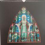 S. Ušinsko vitražas Berčiūnų bažnyčioje