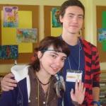 EST savanoriai Natia Meskhi ir Marius Seech 2012-2013 m.