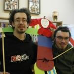 EST savanoriai 2009-2010 m. Francesco Dal Lago ir Johannes Trenkler