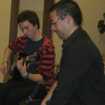 Muzikuoja EST savanoriai- Marius Seeck ir Juan Carlos Alberto